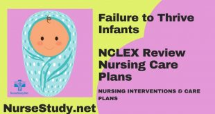 Failure To Thrive Infants